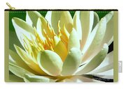Yellow Lily Burst Carry-all Pouch