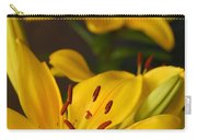 Yellow Lily Mirror Carry-all Pouch