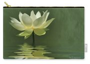 Yellow Lily With Reflections Carry-all Pouch