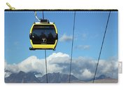 Yellow Line Cable Cars And Andes Mountains Bolivia Carry-all Pouch