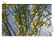 Yellow Little Flowers Carry-all Pouch