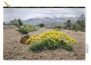 Yellow Mountain Blooms Carry-all Pouch by Margaret Pitcher