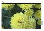 Yellow Mums Carry-all Pouch