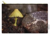 Yellow Mushroom Carry-all Pouch
