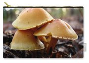 Yellow Mushrooms 1 Carry-all Pouch