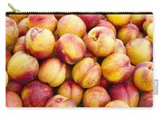 Yellow Nectarines Carry-all Pouch