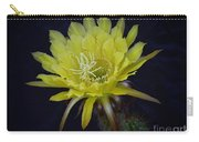 Yellow Night Blooming Cactus  Carry-all Pouch