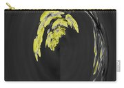Yellow On Gray 2 Carry-all Pouch