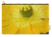 Yellow On Purple Carry-all Pouch