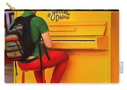 Yellow Piano Carry-all Pouch