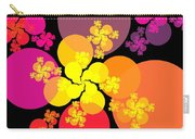 Yellow Pink Red Orbs Carry-all Pouch