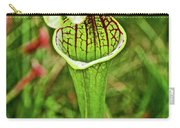 Yellow Pitcher Plant  In Huntington Botanical Gardens In San Marino-california  Carry-all Pouch