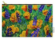 Yellow Poppies 560190 Carry-all Pouch