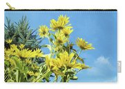 Yellow Posies Gazing At The Sky  Carry-all Pouch