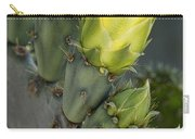 Yellow Prickly Pear Cactus Bloom Carry-all Pouch