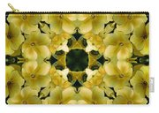 Yellow Primrose Kaleidoscope Carry-all Pouch