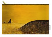Yellow Pyramid Carry-all Pouch