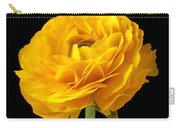 Yellow Ranunculus In Striped Vase Carry-all Pouch
