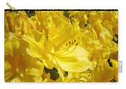 Yellow Rhodies Floral Brilliant Sunny Rhododendrons Baslee Troutman Carry-all Pouch