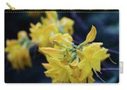 Yellow Rhododendron Flower Carry-all Pouch