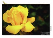 Yellow Rose - After The Rain Carry-all Pouch