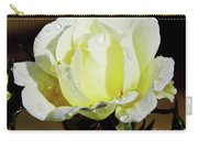 Yellow Rose Dew Drops Carry-all Pouch