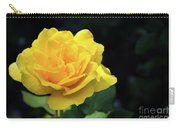 Yellow Rose - Full Bloom Carry-all Pouch