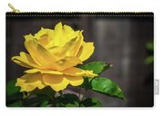 Yellow Rose Of Los Gatos Carry-all Pouch
