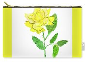Yellow Rose, Painting Carry-all Pouch