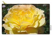 Yellow Rose Sunlit Summer Roses Flowers Art Prints Baslee Troutman Carry-all Pouch