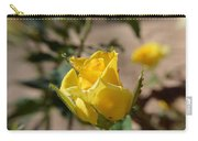 Yellow Rose With Ants Carry-all Pouch