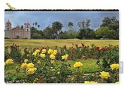 Yellow Roses And Dark Sky Carry-all Pouch