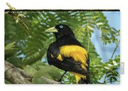 Yellow Rumped Cacique Carry-all Pouch