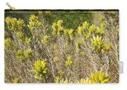 Yellow Sage Flower Carry-all Pouch