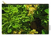 Yellow Sedum At Pilgrim Place In Claremont-california Carry-all Pouch