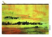 Yellow Sienna Black Carry-all Pouch