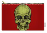 Yellow Skull Carry-all Pouch
