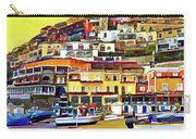 Yellow Sky In Positano Carry-all Pouch