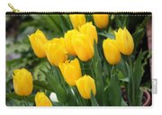 Yellow Spring Tulips Carry-all Pouch