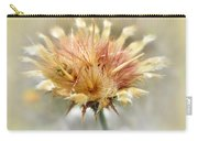 Yellow Star Thistle Carry-all Pouch by Valerie Anne Kelly
