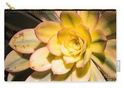 Yellow Succulent Carry-all Pouch