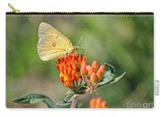 Yellow Sulphur Butterfly Carry-all Pouch