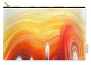 Yellow Sunlight Abstract Art Carry-all Pouch