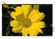 Yellow Sunshine Work Number 8 Carry-all Pouch