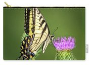 Yellow Swallow Tail Carry-all Pouch