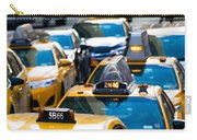 Yellow Taxis Carry-all Pouch