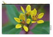Yellow Thryallis Carry-all Pouch