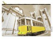 yellow tram Lisbon Carry-all Pouch