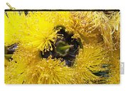 Yellow Tree Flower Carry-all Pouch