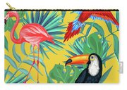 Yellow Tropic  Carry-all Pouch